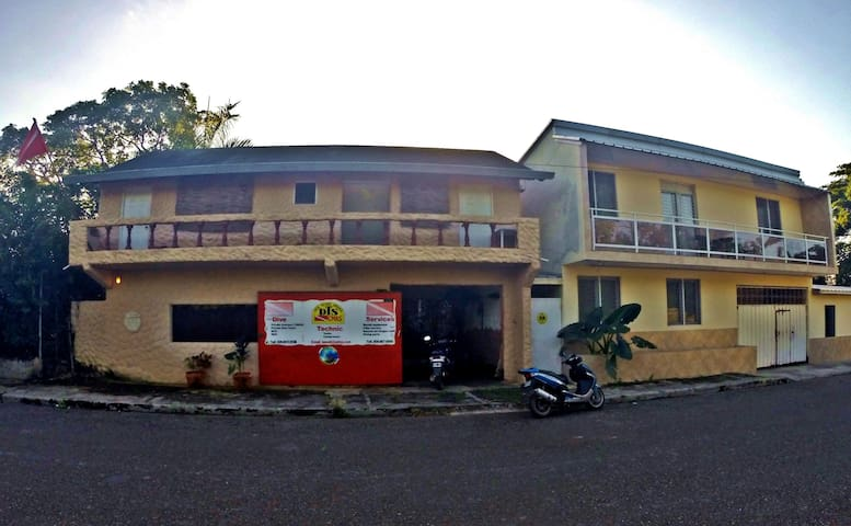 Front view Hostel