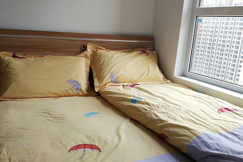 B卧室(小),1.5m双人床