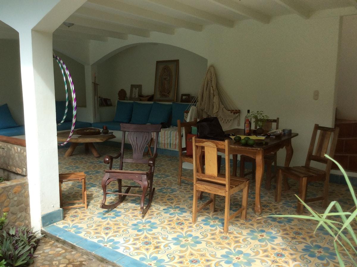Dependency Room Peacefull House 1.5 B From Beach   Villas For Rent In San  Juan Del Sur, Departamento De Rivas, Nicaragua