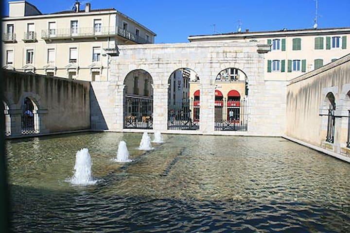 Fontaine chaude - Dax