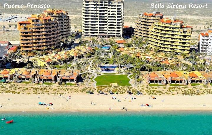 Bella Sirena Beach Condo on Sandy Beach