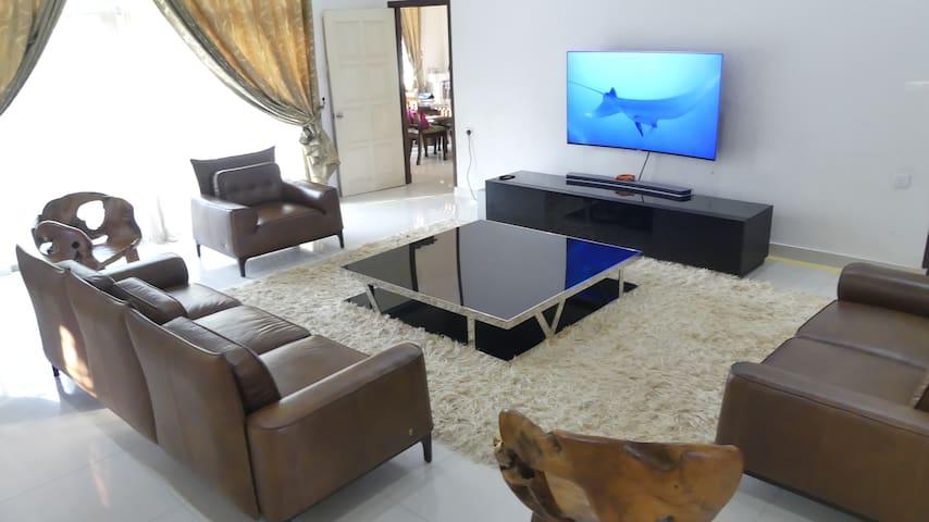 "Large screen Internet Smart 65"" SAMSUNG Curved TV"
