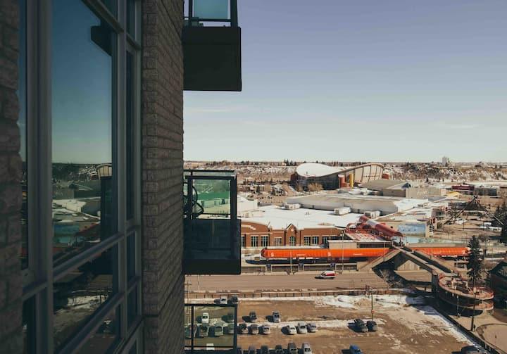 Downtown Condo - 6 Min Walk To Saddledome & BMO