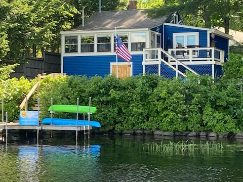 Cottage on the lake! Includes kayaks & rowboat!