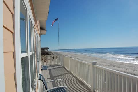 New Listing! Beachfront cottage with views from every room! Linens Included