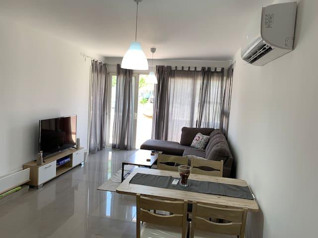 Almaza Bay 2 bedroom Luxurious Ground floor chalet