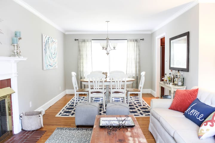 Big 3BR, private, perfectly located home! - Charlotte - Dom