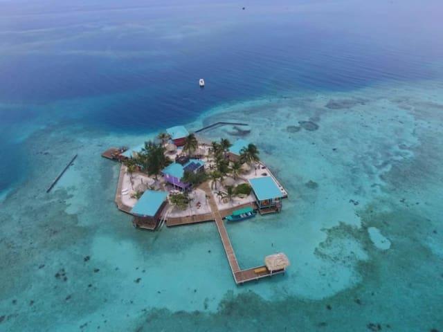Entire Private Belize Caribbean Island Rental