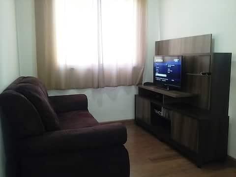 Apartamento Aconchegante e Prático