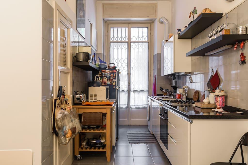 in cucina è possibile prepararsi un tea