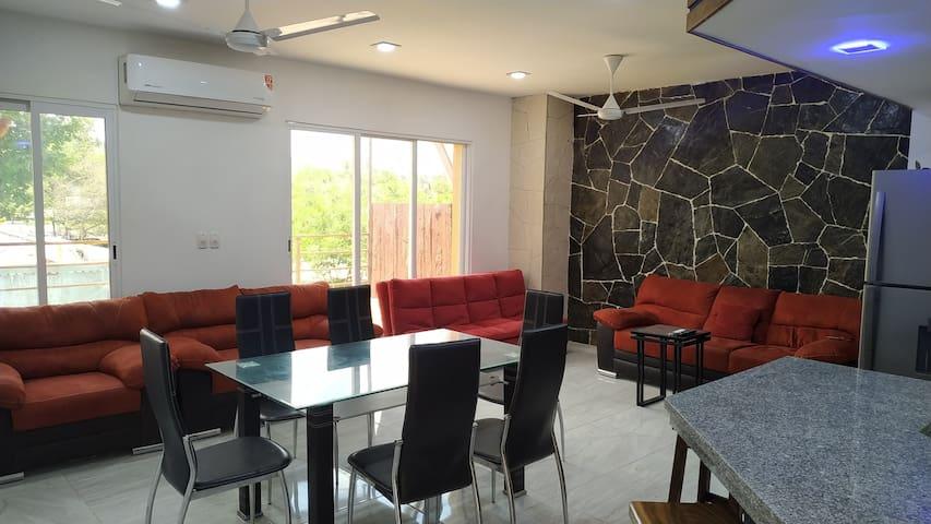2 Recam, 2 baños, Cocina Terraza, PISCINA (103 m2)