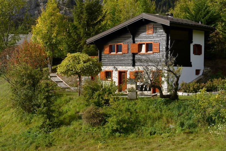 Berghaus, ruhige Lage, tolle Aussicht! - Crans-Montana - House
