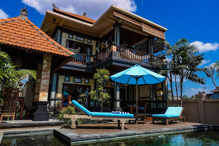 Beautiful Villa Yantawa with Swimming pool in Ubud