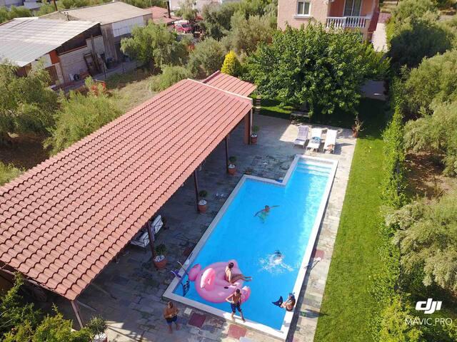 Sykamino Summer Villa and Pool House