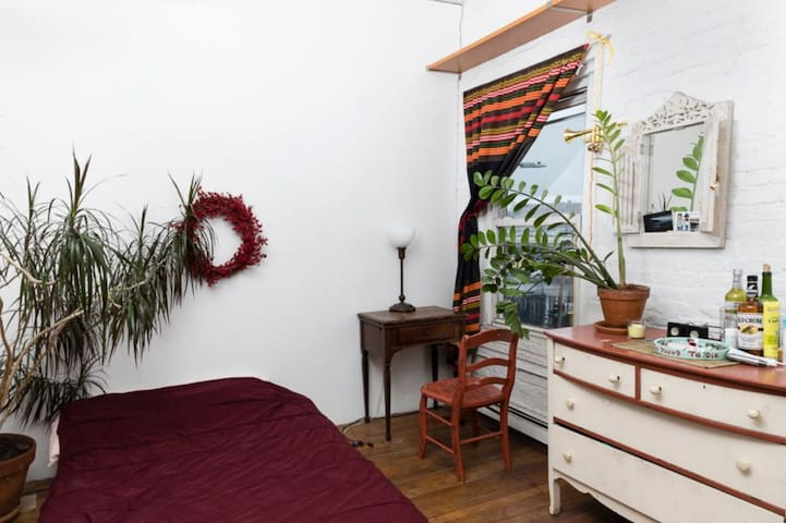Private Bedroom in Red Hook Artist Loft