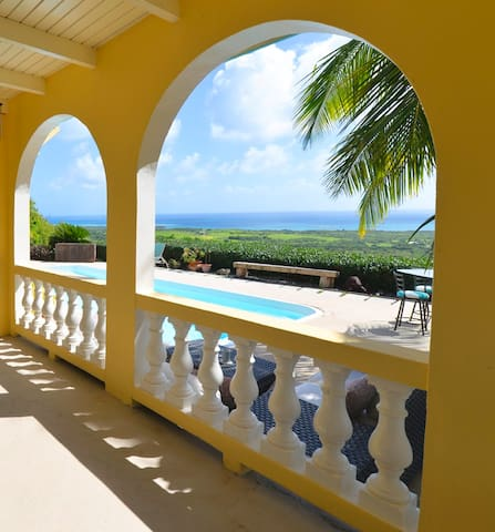 View, Pool & Location at Mandryk Manor! - Christiansted - Casa