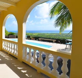 View, Pool & Location at Mandryk Manor! - Christiansted - Rumah