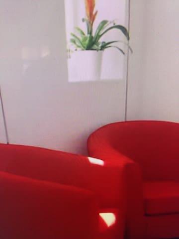 依红色为主题的出租房 - 新竹县 - Lägenhet