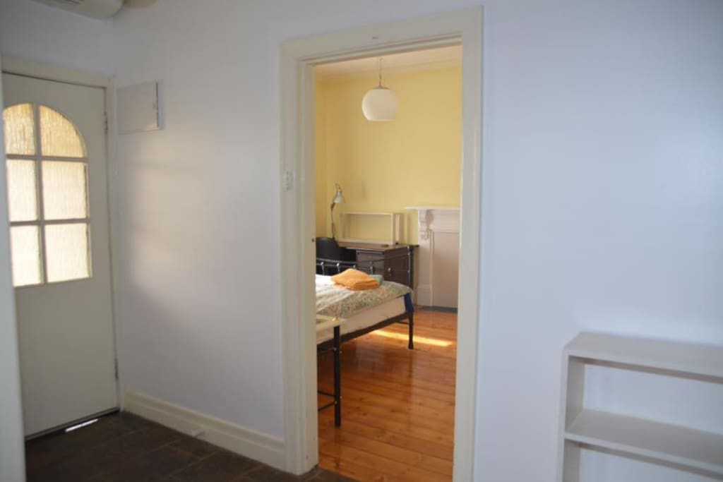 Your room is close to the entrance, north facing