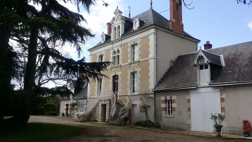 Old Mansion House with Pool - Loire Valley*** - Chitenay - Kasteel
