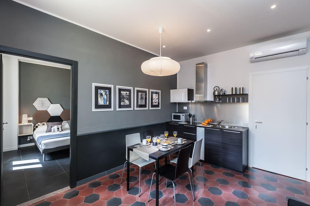 Suite Grigio Moderno