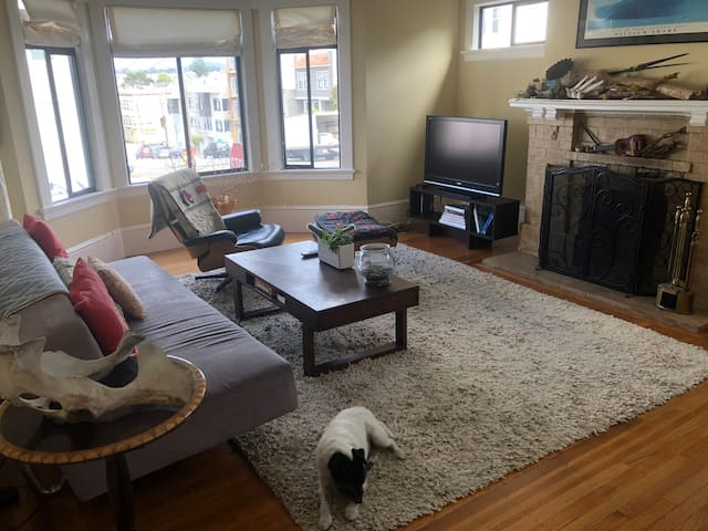 Expansive Flat near GGP, Land's End, GGB + Parking
