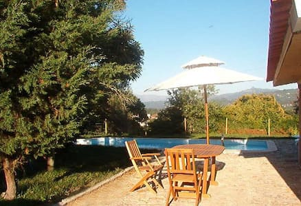 Luxury holidays cottage with view to the mountains - Cendufe