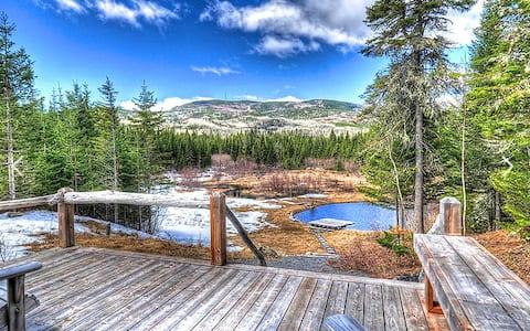Ti-Moose - Chalets Spa Canada Lac Ski Montagne