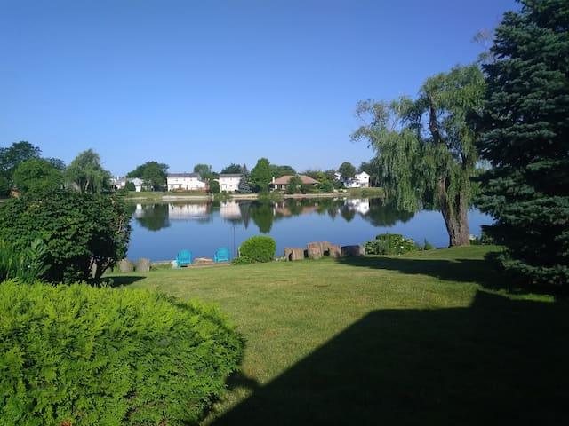 Lake Side Rentals. Entire Duplex.