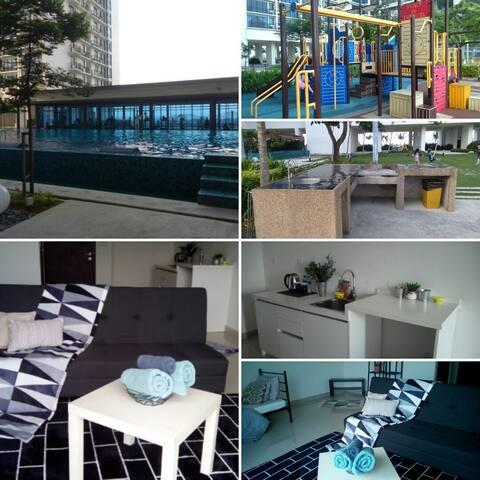 Setia Alam modern Soho living: IlhamCrib@Trefoil