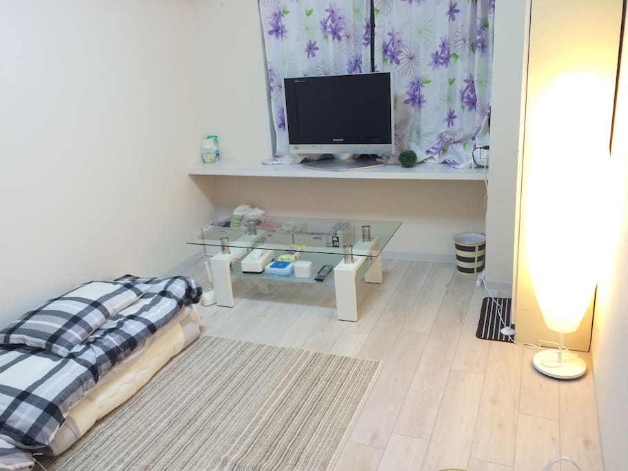 Full Private 1 Bedroom  There are 2 beds