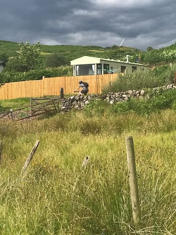 Cruachan view caravan