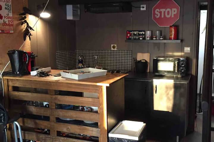 Le Studio 3 - T1 mezzanine cœur de ville