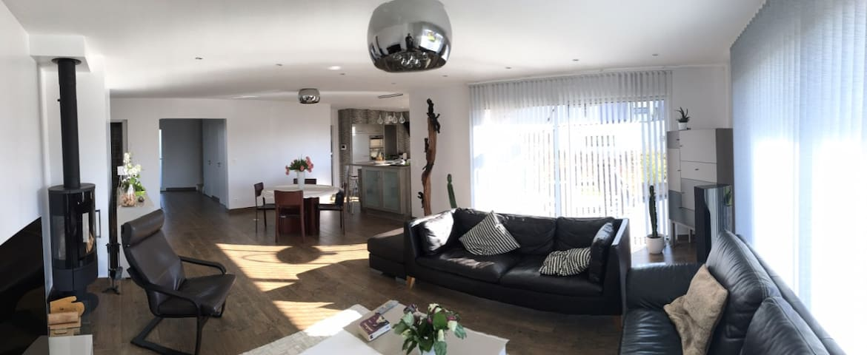 Chambre de 12 m2 dans une maison neuve - Belbeuf - House