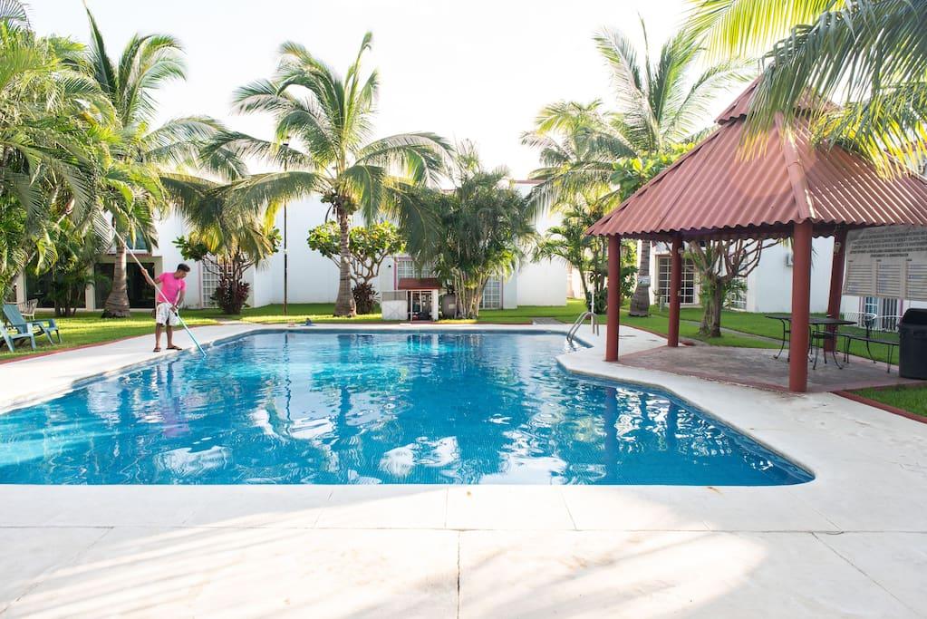 acapulco diamante casa de 2 rec maras con alberca