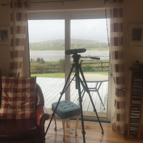 Superb detached house, stunning views - County Donegal - Casa de férias