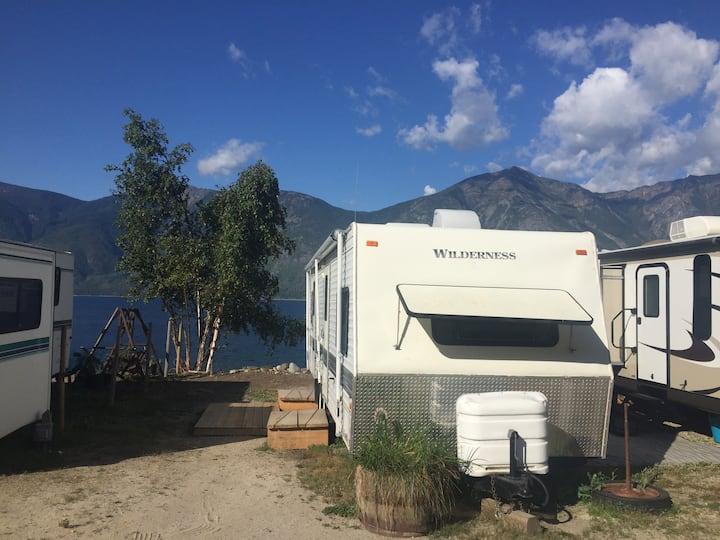 Waterfront Camping on Kootenay Lake