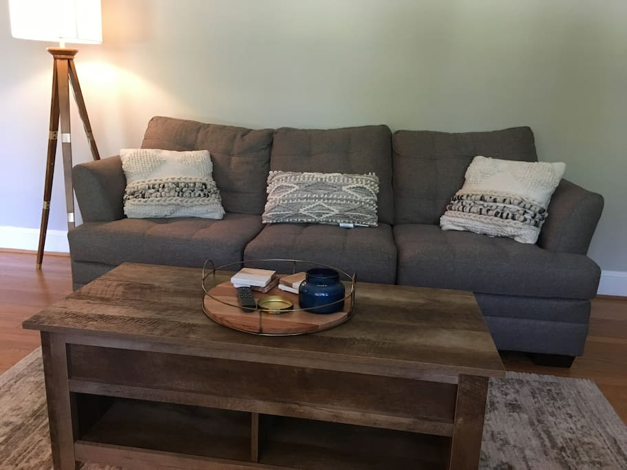 Seating in livingroom