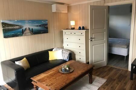 Sentral og moderne leilighet