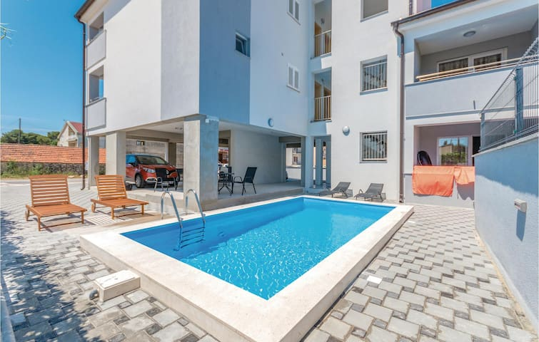 Holiday apartment with 1 bedroom on 40m² in Biograd na Moru