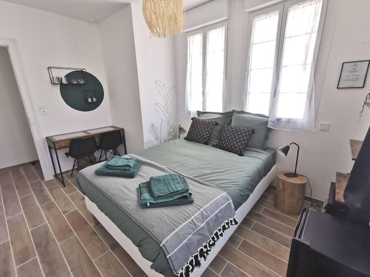 Chambre tout confort, bord de Loire
