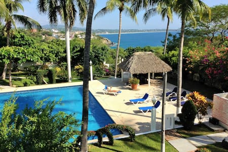 Fabulous ocean view, walk to beaches - Puerto Escondido - Lejlighedskompleks
