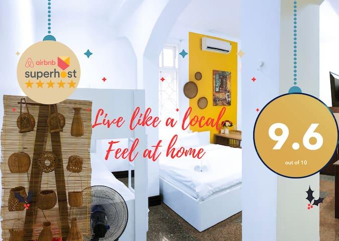 D12-Charming studio apartment in a villa, kitchen+