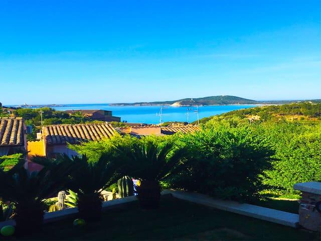 Vista mare casa corallo