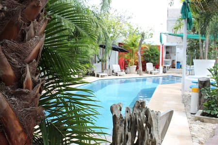 Nuuk (Great in Mayan) Apartment & Fantastic Pool - Mérida