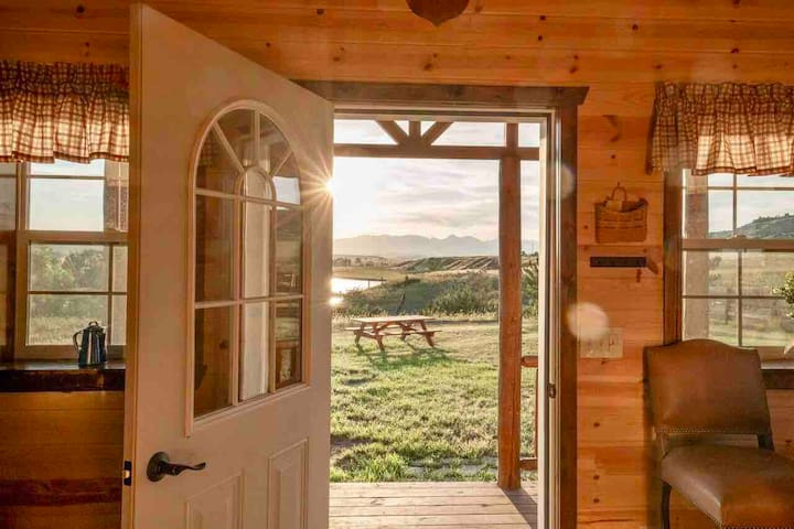 The Cabin at the Hagerman Ranch