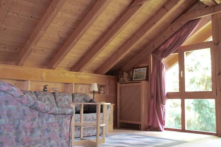 Haus Farbenklang (Zwiesel), Ferienwohnung Baumkrone mit kostenfreiem WLAN und toller Aussicht