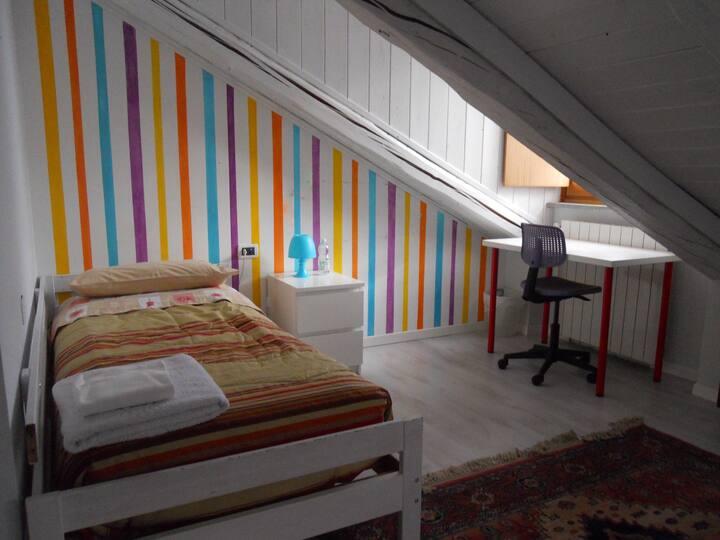 Camera doppia in appartamento