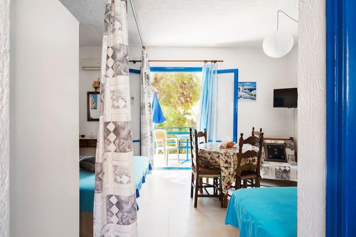 40qm-Appartements mit Garten und Balkon