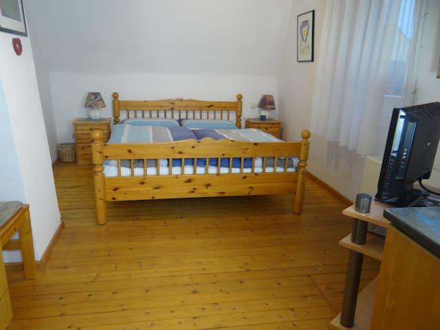 Altstadt Ferienhaus Heimberger (Miltenberg), Ferienhaus mit zwei liebevoll eingerichteten Schlafzimmern